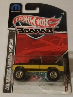 Hot Wheels Garage Series '70 Dodge Power Wagon