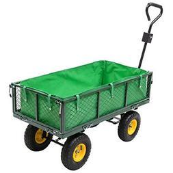 Garden Carts And Wagons 800LB Utility Outdoor Yard Lawn Yard