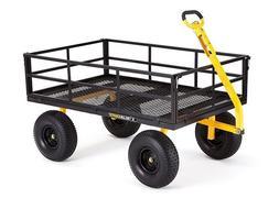 Garden Wagon Heavy Duty Cart Steel Utility Gardening Yard La