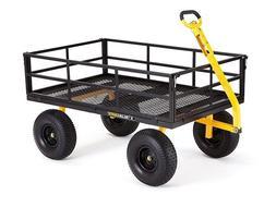 garden wagon heavy duty cart steel utility