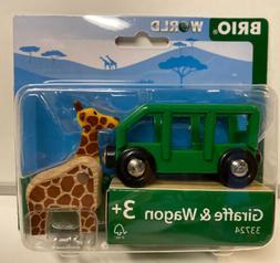 Brio Giraffe and Wagon Train 33724
