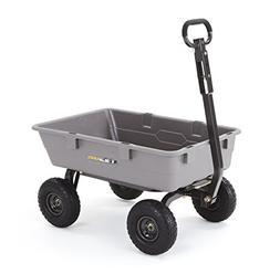 Gorilla Carts GOR5COM 800 lb. Capacity Heavy-Duty Poly Garde