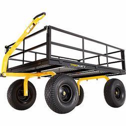 Gorilla Carts Heavy-Duty Steel Utility Cart - 1400-Lb. Capac