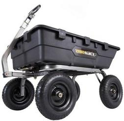 gorilla gor10-16 1,500 lb. super heavy duty poly dump cart