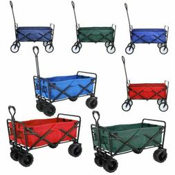 heavy duty collapsible outdoor utility wagon folding