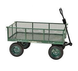 "Sandusky Heavy Duty Steel Jumbo Crate Wagon - 48"" x 24"""