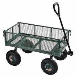 "Sandusky Heavy-Duty Steel Utility Crate Wagon -34"" x 18"" New"