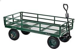 Sandusky Heavy-Duty Steel XL Utility Crate Wagon - 60 x 31 H
