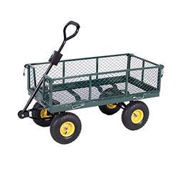 Heavy-Duty-Utility-Wheelbarrow-Lawn-Wagon-Cart-Dump-Trailer-
