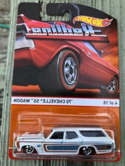 Hot Wheels Heritage Redlines series '70 Chevelle SS Wagon #4