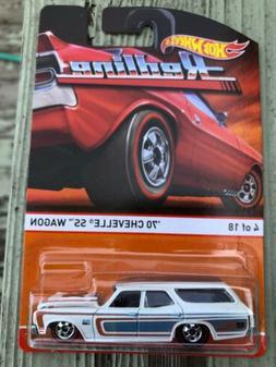 Hot Wheels Heritage Redlines series '70 Chevelle SS Wagon #4
