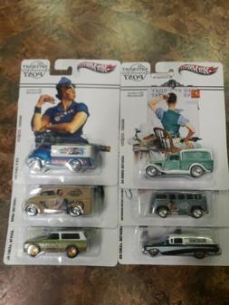Hot Wheels Pop Culture Saturday Evening Post Set of 6-VW Del