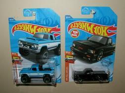 HOTWHEELS 2020 hot trucks lot of two '70 dodge power wagon/'