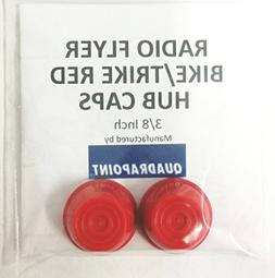 Quadrapoint Hub Caps for Radio Flyer Bike/TRIKES - fits 3/8