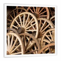 Japan, Gifu, Takayama, Antique Wagon Wheels Heat Transfer, 8