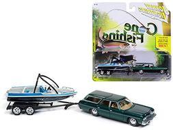 Johnny Lightning JLBT004B-1973CHEVROLET-GREEN 1973 Chevrolet