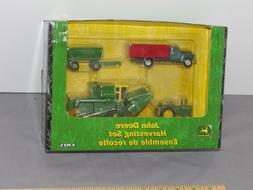 ERTL John Deere 2510 Tractor 95 combine 4-Piece Harvesting S