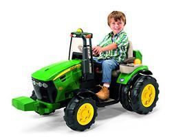 Peg Perego John Deere Dual Force Tractor, Green