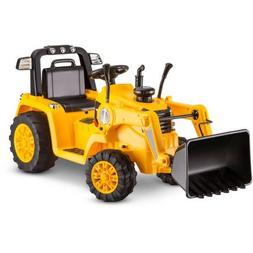Kidtrax KT1092WM CAT Bulldozer/Tractor 6V Battery, 2.5 Mph P