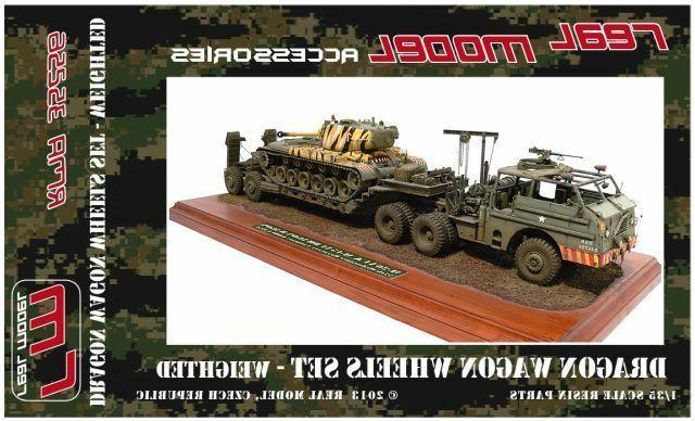 1 35th us m26 dragon wagon wheels