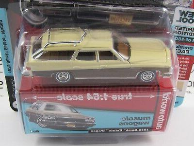 Auto World 1:64 Premium R4 Muscle 1975 ESTATE Wagon A