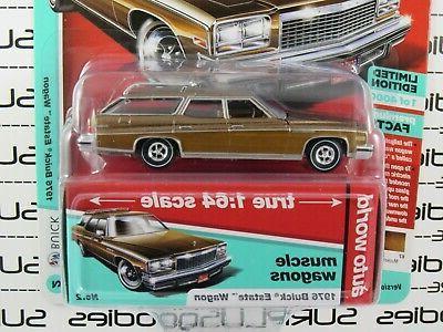 Auto 1:64 2019 Premium R1 1976 BUICK Wagon