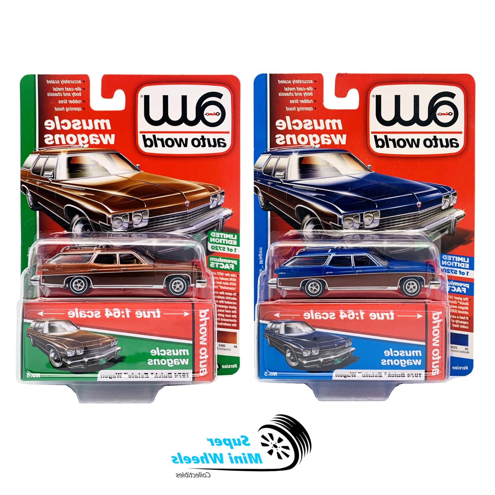 1 64 premium series 2 1974 buick