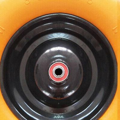 "16"" Free Barrow Wheelbarrow Solid Foam Axle"