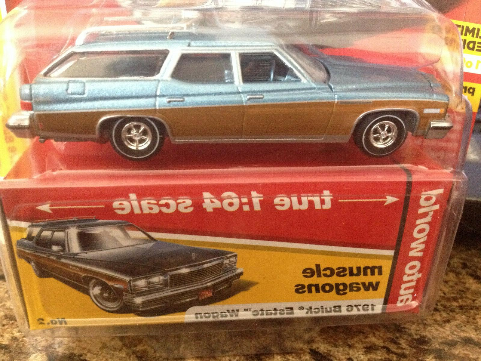 AUTO MUSCLE WAGONS BUICK WAGON BLUE 1