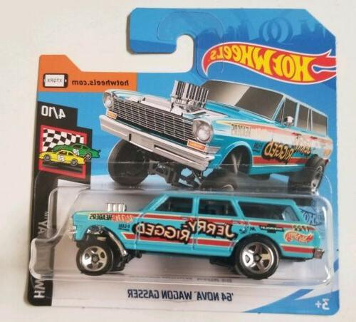 2019 short card 64 nova wagon gasser