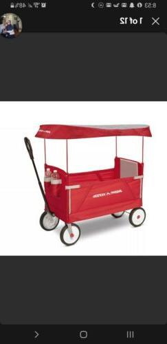 Radio Flyer 3-in-1 EZ Fold Wagon with Canopy, Model #3951 da