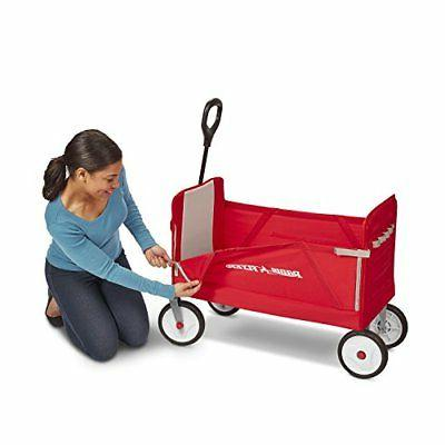 Radio Flyer Fold Red Shipping