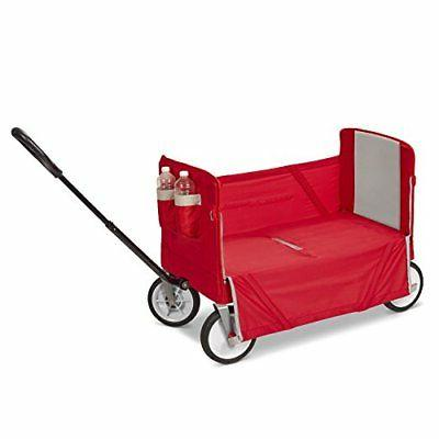 Radio Flyer Fold Ride On Red