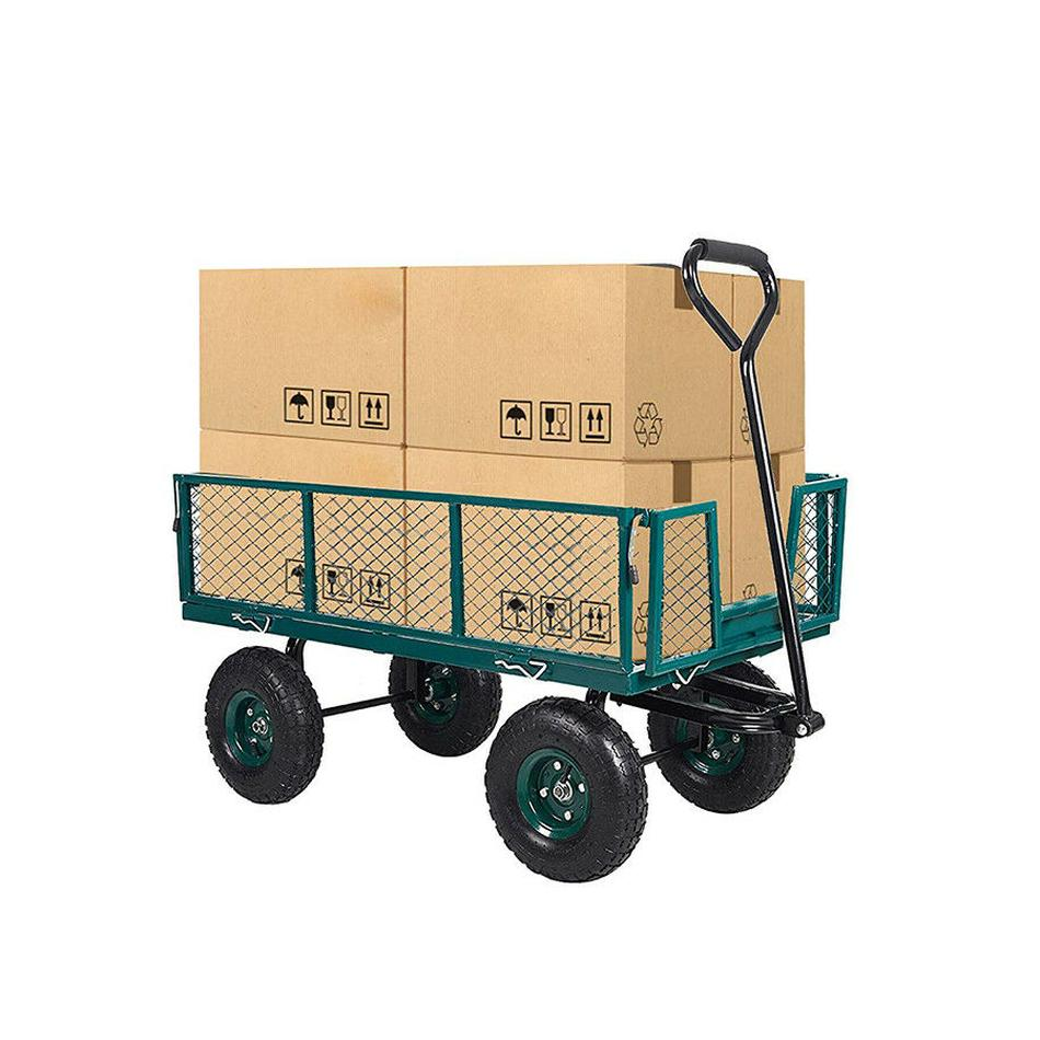 550lbs Duty Dump Outdoor Barrow