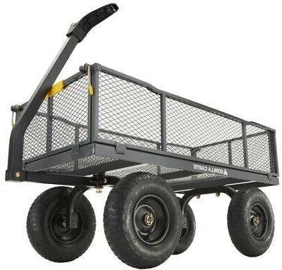 Gorilla 6-cu Steel Towable Utility