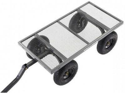Gorilla Carts Steel Garden Towable Utility