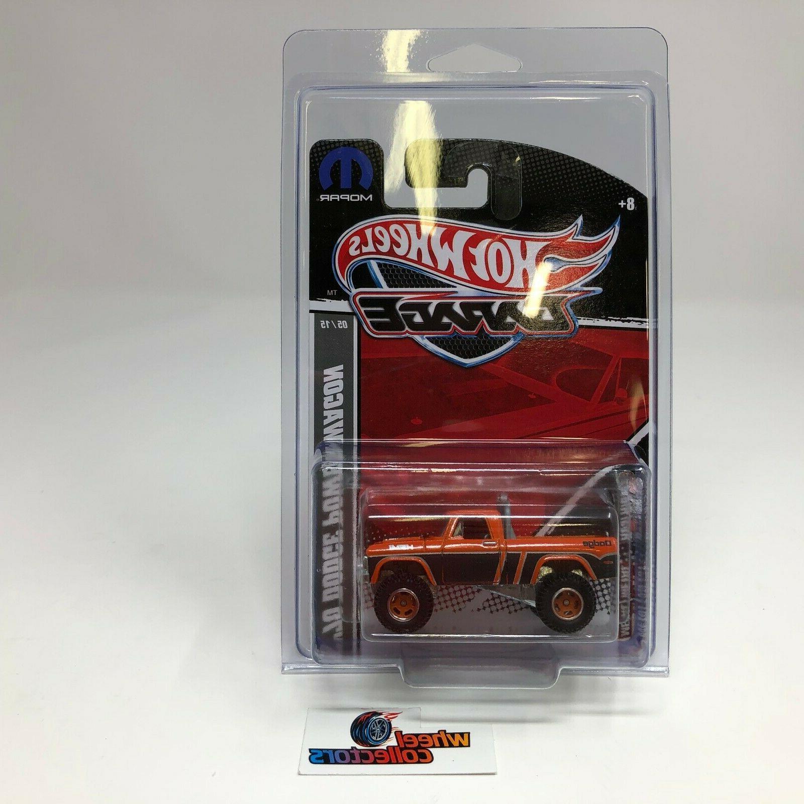 70 dodge power wagon orange garage series