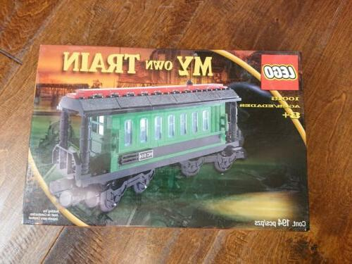 Lego Train Set Wagon New Complete