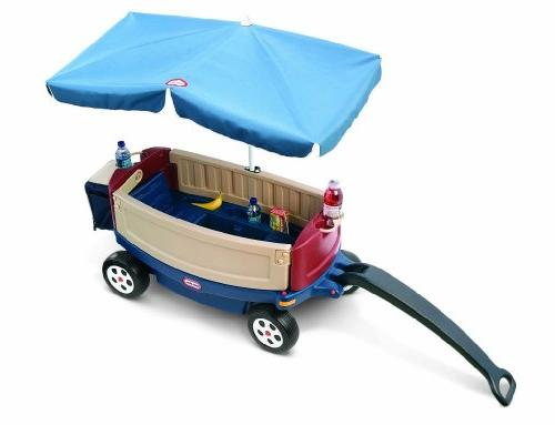 Little and Relax Wagon with Umbrella