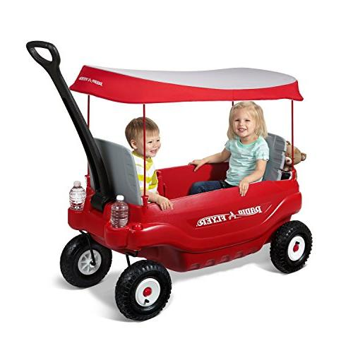 Radio Flyer Family Ride Red