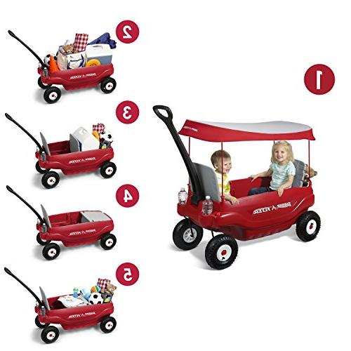 Radio Deluxe All-Terrain Family Wagon Ride Red