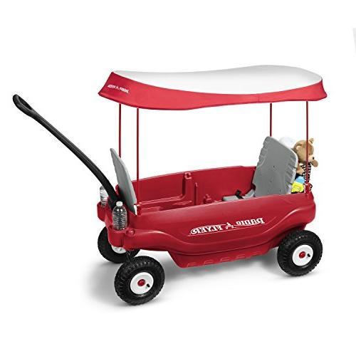 Radio Flyer Deluxe Family Wagon Red