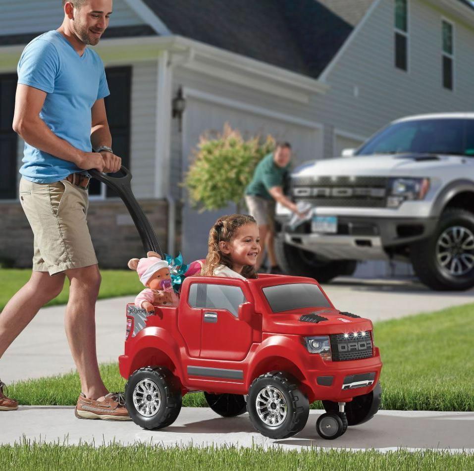 Step2 2-in-1 Ford F-150 SVT Raptor Parent Push Car