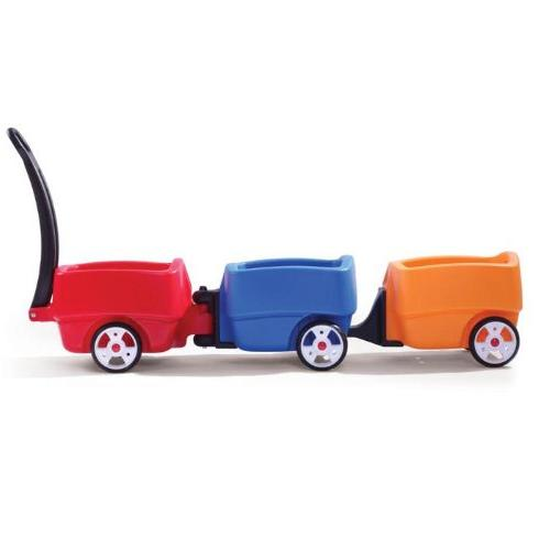 Step2 Push Toddlers Long Handle, Seat Drink Plastic Lightweight Ride-On Toys Choo Combo