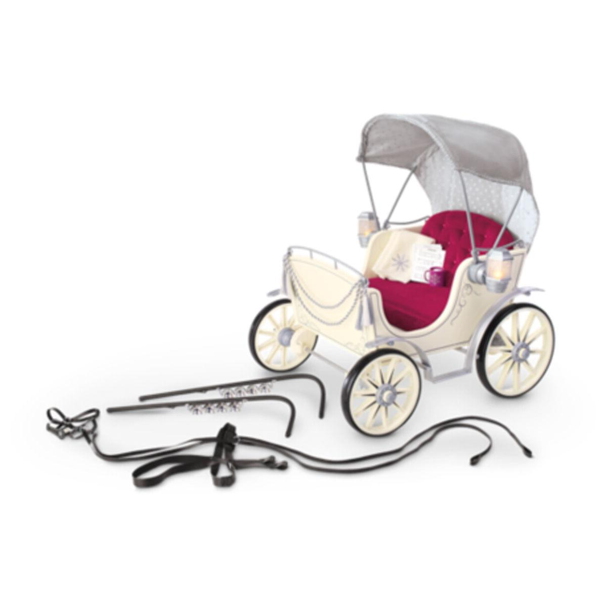"""American Girl MY AG PRETTY CITY CARRIAGE for 18"""" Doll Wagon"""