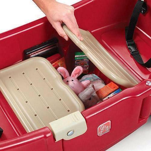 Step2 All Canopy Wagon, Red - Brand New In