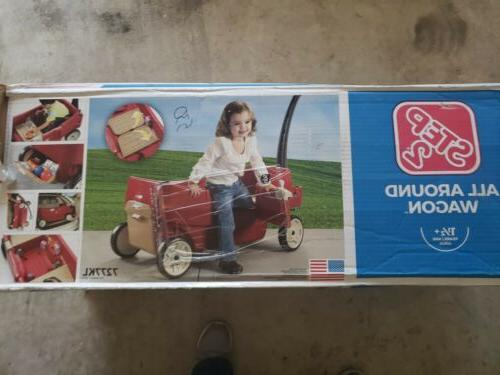 Step2 Around - Red Wagon - BRAND