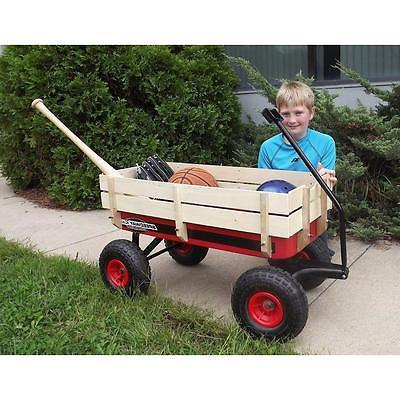 Speedway All Racer Steel Wagon wood