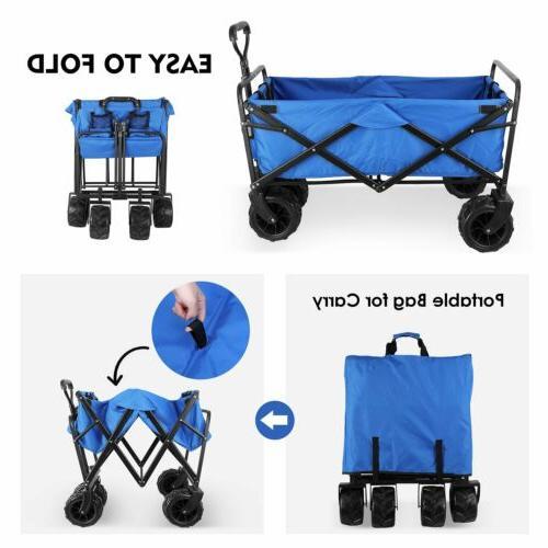 Folding Garden Cart-