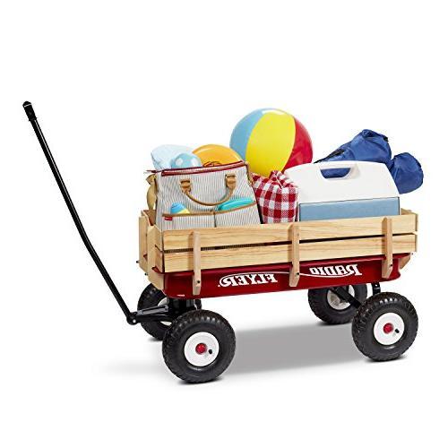 Radio &Wood Wagon